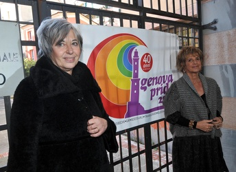 Genova - inaugurazione gay pride point