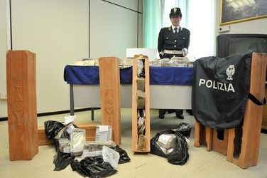 maxi sequestro di hashish