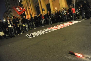 corteo antifascista