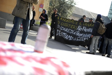 protesta anarchici Lega Nord 01042011