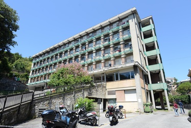 Genova, via Asiago - la casa dello studente