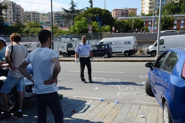 Genova - Incidente mortale a Sampierdarena