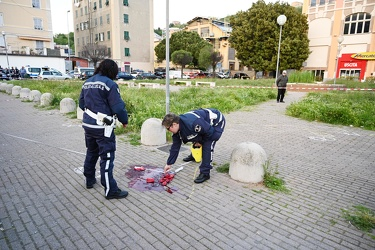 Genova, via Rivarolo - incidente mortale