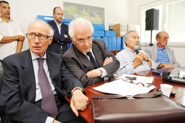 Genova - collina Erzelli - conferenza stampa genova high tech