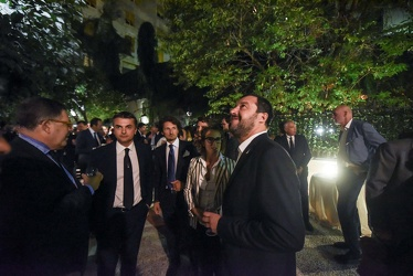 Salvini cena Now Meridiana 12102017