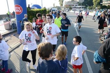 Genova - radio 19 run in corso Italia - Family Run