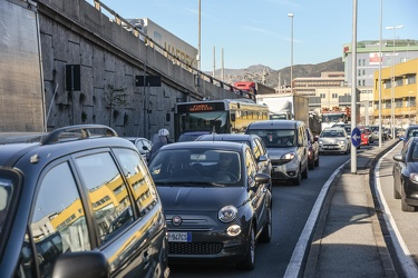traffico Sestri chiusura By Pass 04122018-1384