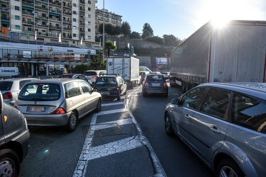 traffico Sestri chiusura By Pass 04122018-1397