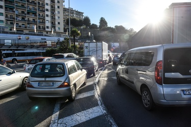 traffico Sestri chiusura By Pass 04122018-1403